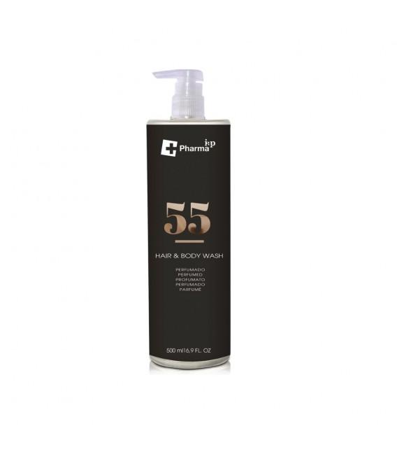 Hair & body wash perfumed Nº 55